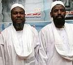 Adel Hassan Hamad (left) and Salim Muhood Adem