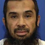 Guantanamo prisoner Hambali (Riduan Isamuddin), photographed at Guantanamo, in a photo include dn the classified military files released by WikiLeaks in 2011.
