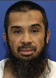 Guantanamo prisoner Hambali (Riduan Isamuddin), photographed at Guantanamo, in a photo included in the classified military files released by WikiLeaks in 2011.