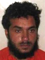 Guantanamo prisoner Haroon-al-Afghani (identified by his newly appointed lawyers as Haroon Gul) , one of the last prisoners to arrive at Guantanamo (in 2007), who had never been heard from before his Periodic Review Board in June 2016. The photo is from his classified military files, released by WikiLeaks in 2011.