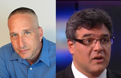 Joseph Hickman and John Kiriakou, former US whistleblowers and authors of 'The Convenient Terrorist', a new book about the US torture program, with a particular focus on Abu Zubaydah.