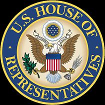 The logo of the US House of Representatives