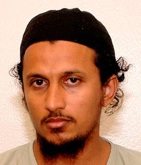 Hussein Almerfedi, in a photo from the classified military files relating to the Guantanamo prisoners, which were released by WikiLeaks in April 2011.