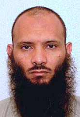Libyan prisoner Ismail Ali Faraj al-Bakush, in a photo from Guantanamo included in the classified military files released by WikiLeaks in 2011.