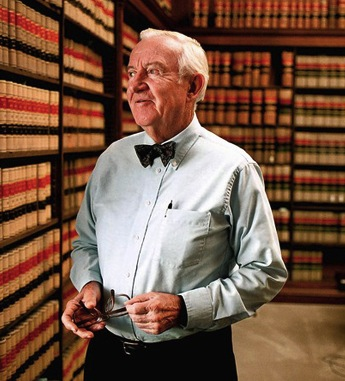Former US Supreme Court Justice John Paul Stevens, photographed before his retirement in 2010.