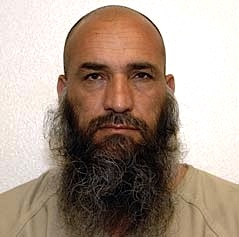 Afghan prisoner Karim Bostan, in a photo from Guantanamo included in the classified military files released by WikiLeaks in 2011.
