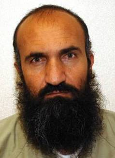 Khairullah Khairkhwa, in a photo included in the classified US military documents (the Detainee Assessment Briefs) released by WikiLeaks in April 2011.