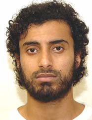 Guantanamo prisoner Khalid Qassim (aka Qasim), in a photo from the classified military files released by WikiLeaks in 2011.