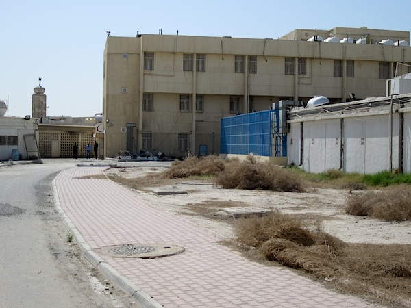 The rehabilitation center in Kuwait for former Guantanamo prisoners, photographed on February 23, 2012 (Photo: Andy Worthington).