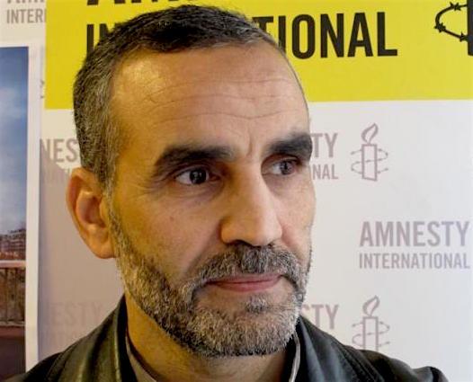 Former Guantanamo prisoner Lakhdar Boumediene.
