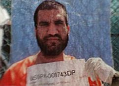 Mohammed Saad Iqbal Madni, photographed in Guantanamo