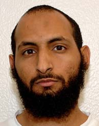 Mahmud al-Mujahid (aka Mahmoud-al-Mujahid), in a photo included in the classified military files relating to the Guantanamo prisoners that were released in 2011.