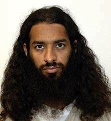 Guantanamo prisoner Mahmoud Bin Atef, in a photo included in the classified military files released by WikiLeaks in 2011.