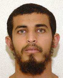 Majid Ahmed (aka Majid Ahmad), in a photo included in the classified military files from Guantanamo that were released by WikiLeaks in 2011.