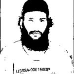 Majid al-Harbi, in a photo from Guantanamo included in the classified military files released by WikiLeaks in 2011.