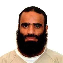 Mansoor-al-Zahari, a Yemeni prisoner at Guantanamo, in a photo included in the classified military files released by WikiLeaks in 2011.