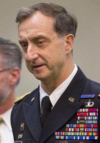 Brig. Gen. Mark Martins, the chief prosecutor of the military commissions.