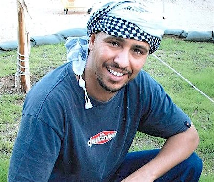 Mauritanian prisoner Mohamedou Ould Slahi, photographed before he was handed over to US authorities in Mauritania, and sent for torture in Jordan and Guantanamo, where he is still held. On July 14, 2016, a Periodic Review Board approved him for release.