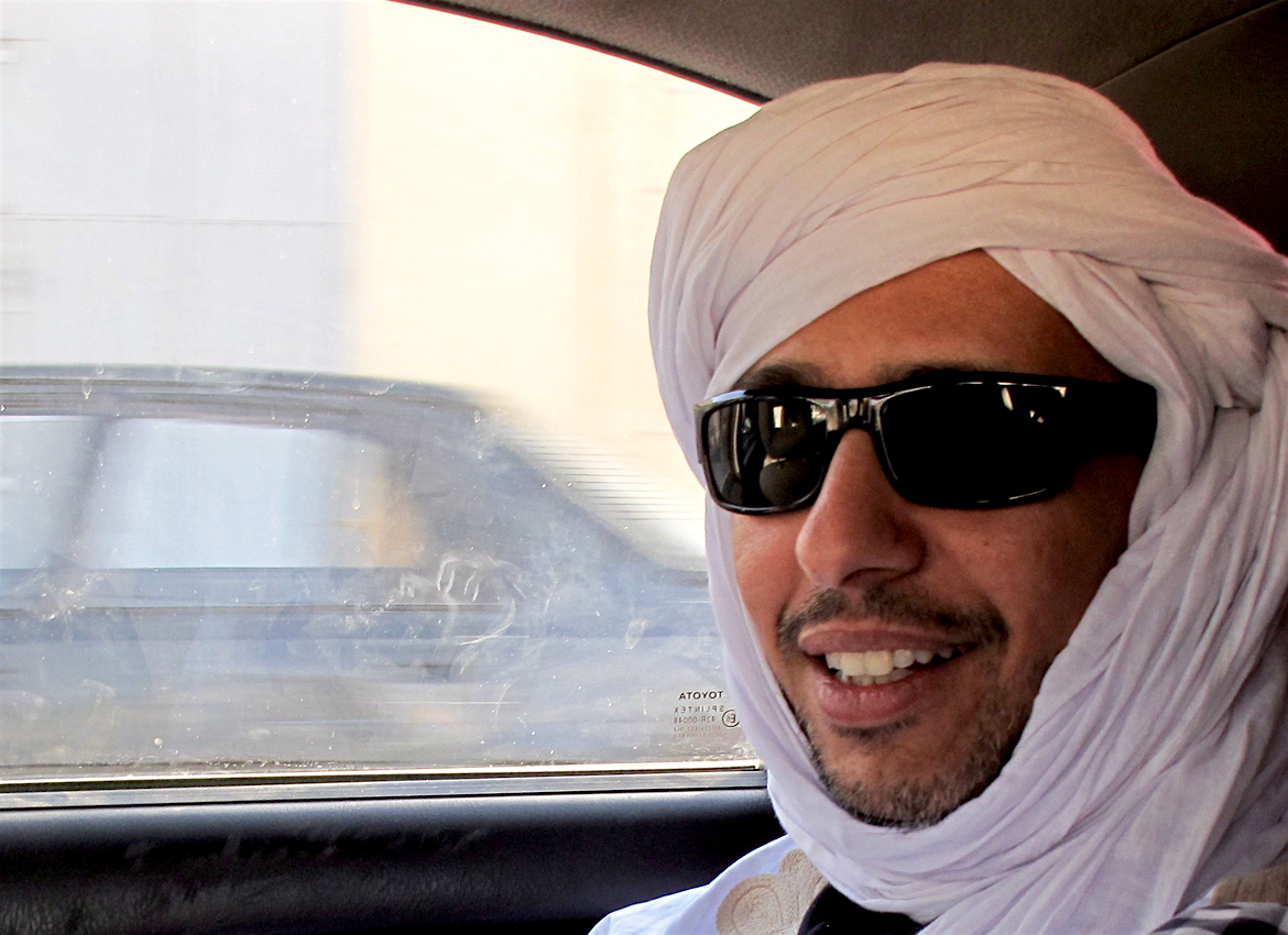 Mohamedou Ould Slahi in a photo that accompanied an interview with him on the Warscapes website in December 2016.
