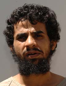 Muhammad al-Shumrani, in a photo from Guantanamo included in his classified military file, released by WikiLeaks in 2011.