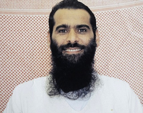 "Guantanamo prisoner Muhammad Rahim al-Afghani, as he appears in a profile on Match.com, where he is described as ""detained but ready to mingle."" Photo provided by his lawyer, Carlos Warner."