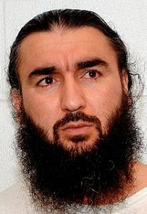 Tajik prisoner Muhammad Davliatov (aka Umar Abdulayev) in a photo from Guantanamo.