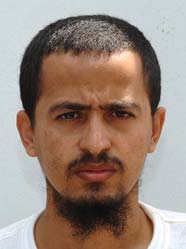 Guantanamo prisoner Mukhtar al-Warafi (a Yemeni), in a photo from the classified military files released by WikiLeaks in 2011.