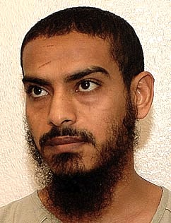 Mustafa al-Shamiri, in a photo included in the classified military files from Guantanamo that were released by WikiLeaks in 2011.