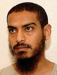 Mustafa-al-Shamiri, in a photo included in the classified military files from Guantanamo that were released by WikiLeaks in 2011.