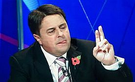 Nick Griffin of the BNP on the BBC's Question Time, October 22, 2009
