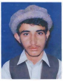 Guantanamo prisoner Obaidullah before his capture, in a photo provided to his lawyers by his family in Afghanistan.