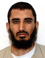 Afghan prisoner Obaidullah, in a photo from Guantanamo included in the classified military files released by WikiLeaks in 2011.