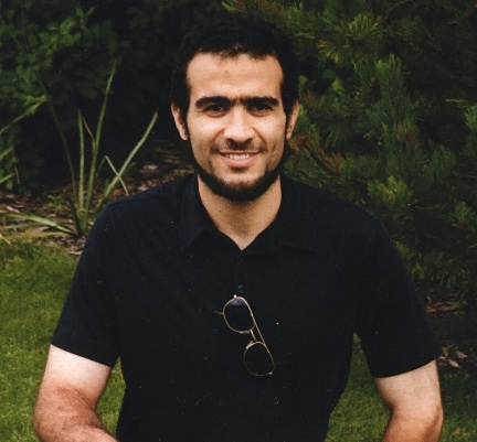 Former Guantanamo prisoner Omar Khadr in a recent photo taken at the medium-security Bowden Institution in Innisfail, Canada, where he has been held since February 2014.