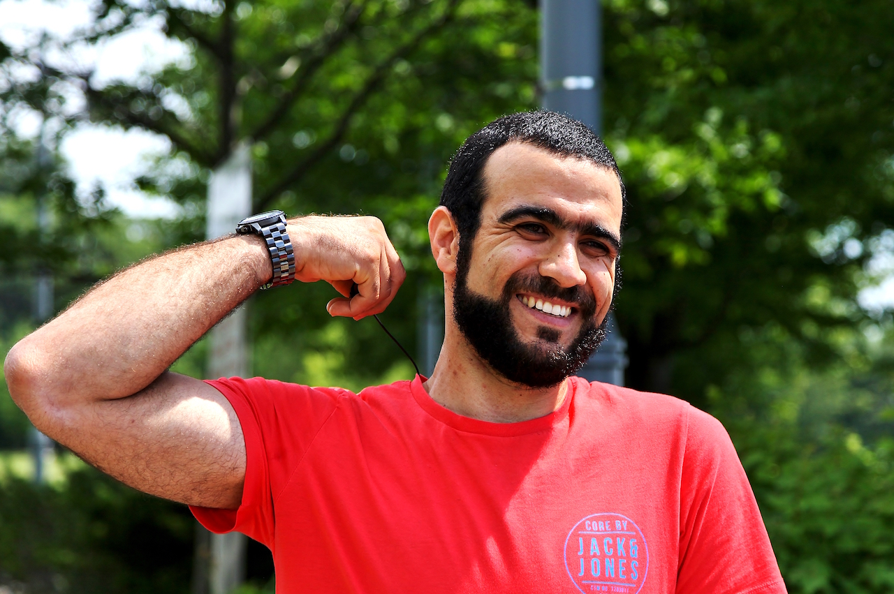 Former Guantanamo prisoner Omar Khadr photographed in July 2017 in Ontario (Photo: Colin Perkel).