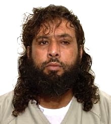 Guantanamo prisoner Omar Mohammed Khalifh in a photo included in the classified military files released by WikiLeaks in 2011.