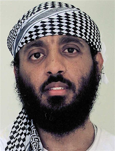 Ramzi bin al-Shibh, in an undated photo from Guantanamo released by his lead attorney, James Harrington.