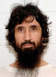 Ravil Mingazov at Guantanamo, in a photo included in the classified US military documents (the Detainee Assessment Briefs) released by WikiLeaks in April 2011.