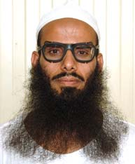 Saad-al-Azani, in a photo included in the classified military files from Guantanamo released by WikiLeaks in April 2011.