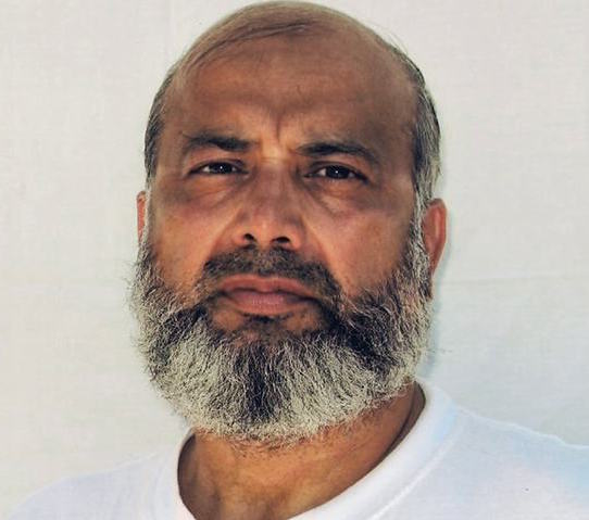 Guantanamo prisoner Saifullah Paracha in an updated photo taken by representatives of the International Committee of the Red Cross and provided to his family, who made it public.