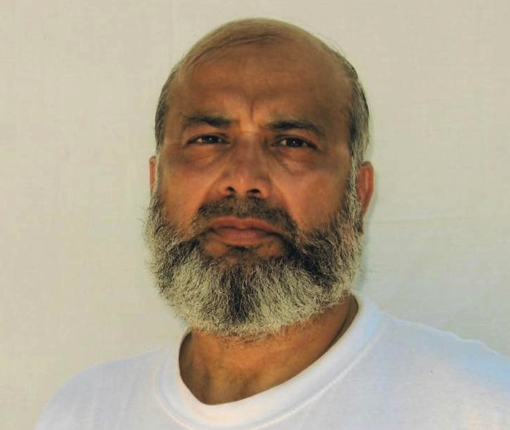 A photo of Guantanamo prisoner Saifullah Paracha, taken by representatives of the International Committee of the Red Cross, and made available to his family.