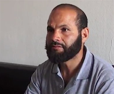 Salah Sassi, in a screenshot from the Associated Press's interview with him in June 2017.