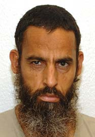 Salem Gherebi, in a photo from Guantanamo included in the classified military files released by WikiLeaks in 2011.