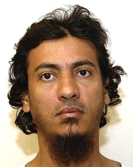 Yemeni prisoner Sanad al-Kazimi, in a photo from Guantanamo included in the classified military files released by WikiLeaks in 2011.