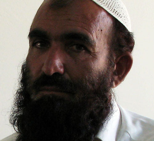 Sarajuddin (aka Abib Sarajuddin), photographed as part of McClatchy Newspapers' major report on 66 released Guantanamo prisoners in 2008.