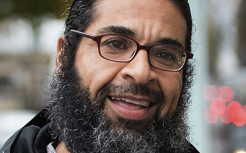 Shaker Aamer photographed in London on November 10, 2015 (Photo credit: Eddie Mulholland/The Telegraph).