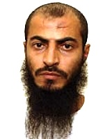 Yemeni prisoner Sharqawi Abdu Ali al-Hajj, in a photo from Guantanamo included in the classified military files released by WikiLeaks in 2011.