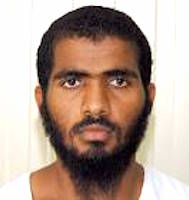 Yemeni prisoner Shawqi Balzuhair, in a photo from Guantanamo included in the classified military files released by WikiLeaks in 2011.