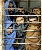 Prisoners in Sheberghan
