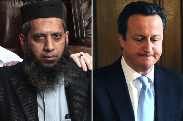 Muslim community organiser Suliman Gani (left), who is seeking a public apology from the Prime Minister, David Cameron, who has made false allegations about him supporting Islamic State (IS), when nothing could be further from the truth.
