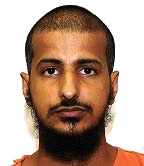Tariq Ba Odah, in a photo from Guantanamo included in the classified military files released by WikiLeaks in 2011. This photo is probably from around 2007, when Tariq began his hunger strike.